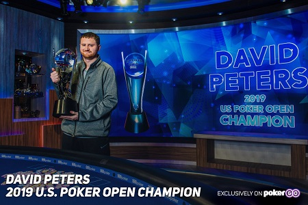 David Peters is 2019 US Poker Open Champion, wins $100K USPO Main Event