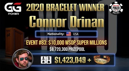 WSOP Online: Melika 'Melirazavii' Razavi, Connor Drinan, Michael Gathy win final bracelets