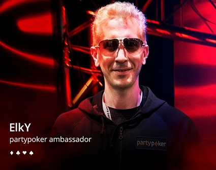 ElkY signs with partypoker