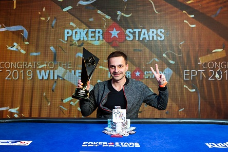 Mikalai Pobal wins 2019 EPT Prague for €1,005,600