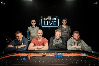 Steffen Sontheimer and David Peters lead $250K SHR Championship final table