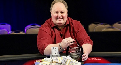 Greg Raymer wins fifth Heartland Poker Tour title