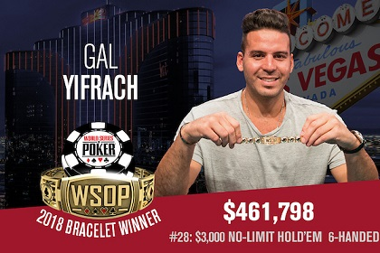 2018 WSOP: Hahn Tran and Gal Yifrach win bracelets