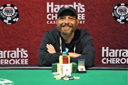 Erik Gorman wins WSOP Circuit Cherokee Main Event