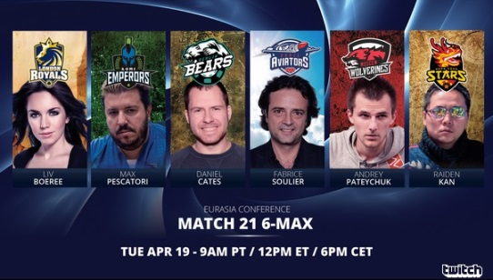 GPL Week 3: 6-Max Matches with player managers