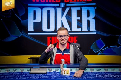 WSOP Europe: Mykhailo Gutyi wins Event #4 €1,100 NL Turbo Bounty Hunter