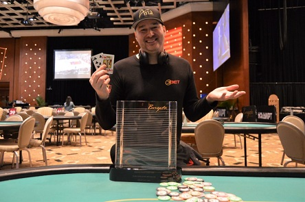 Phil Hellmuth Wins Heads-Up Title at Borgata Winter Poker Open