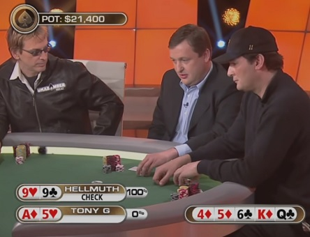 Tilt-a-Phil: Tony G vs Phil Hellmuth (Videos)