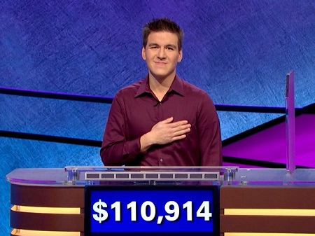 Las Vegas pro sportsbettor James Holzhauer sets Jeopardy! single-game record