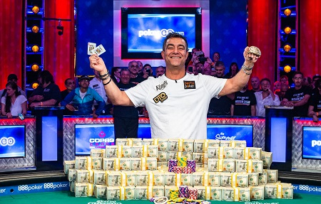 Germany's Hossein Ensan wins 2019 WSOP Main Event and $10 million