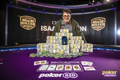 Isaac Haxton ships Super High Roller Bowl V for $3.6 million