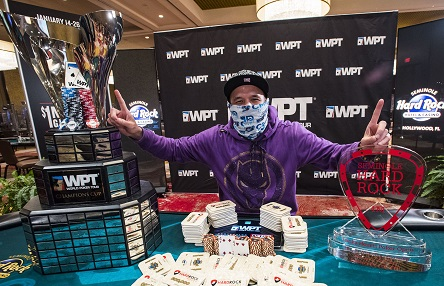Ilyas Muradi wins WPT Lucky Hearts Poker Open for $809K