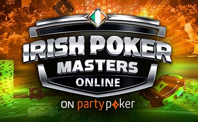Irish Poker Masters starts this weekend on partypoker
