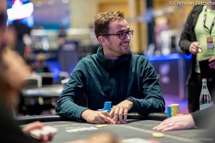 2019 WSOP Europe: Dario Sammartino and ODB Baker Lead Final 14 in Main Event