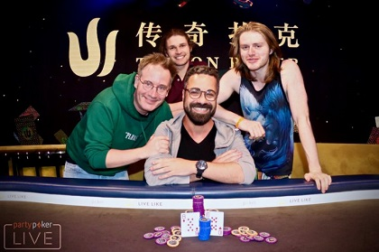 Orpen Kisacikoglu wins Triton Super High Roller at partypoker LIVE MILLIONS Europe