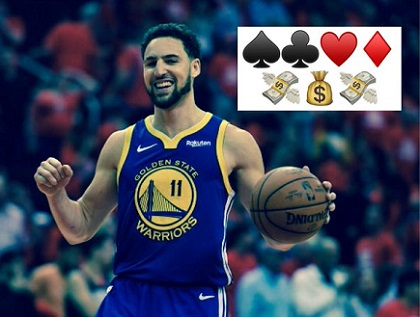 Klay Thompson, Splash Brother and poker fish