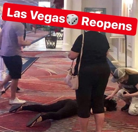 Las Vegas Re-Opens as COVID-19 cases spike in the Southwest