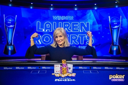 Lauren Roberts wins first USPO title for $218K