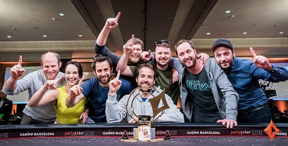 Pascal Lefrancois wins partypoker LIVE Millions Barcelona for €1.7 million