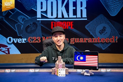 2019 WSOP Europe: Chin Wei Lim wins €100K Diamond High Roller for €2.2 million