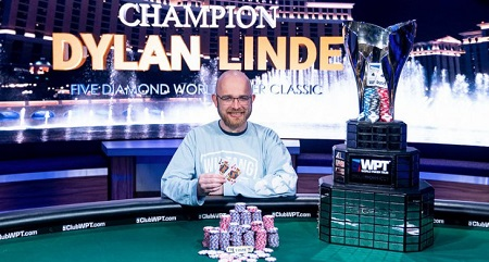 WPT Bellagio: Dylan Linde wins Five Diamond Classic for $1.6 million