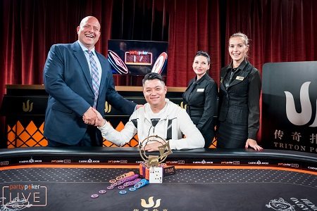 Ivan Leow wins Triton Super High Roller in Sochi, Russia