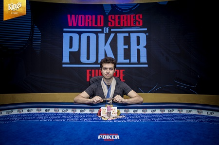 WSOP Europe: Aussie Michael Addamo wins second bracelet in Event #8 €25,500 Super High Roller