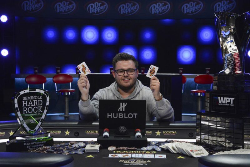 Scott Margereson wins WPT Seminole Hard Rock Poker Showdown