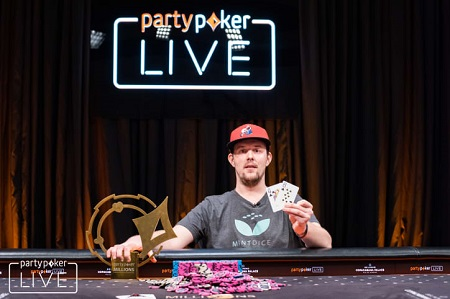 American Martin Mathis wins partypoker LIVE MILLIONS South America