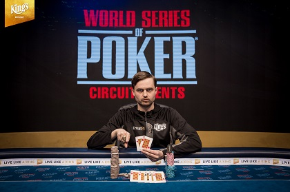 Martin Kabrhel win WSOP International Circuit Rozvadov Main Event