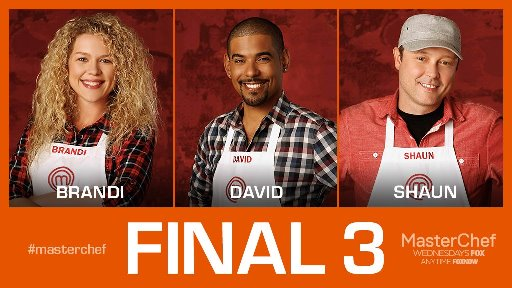 David Williams advances to the finals of MasterChef