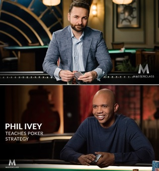Christmas Gift Ideas: Masterclass with Phil Ivey and Daniel Negreanu