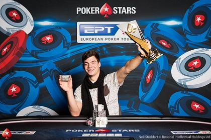 Paul Michaelis wins EPT Prague Main Event for €840K