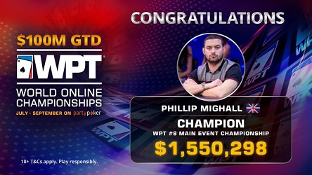 2020 WPT World Online Championships: Phillip Mighall Binks Main Event for $1.7 Million