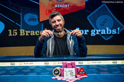 2019 WSOP Europe: Asi Moshe wins fourth bracelet with PLO/NL mixed win