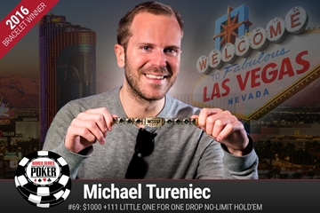 WSOP: Michael Tureniec wins Little One Drop; Main Event down to 27