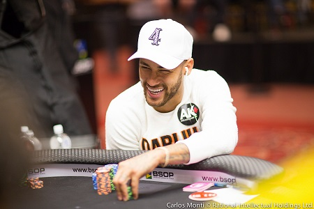 Neymar Jr. final tables BSOP High Roller