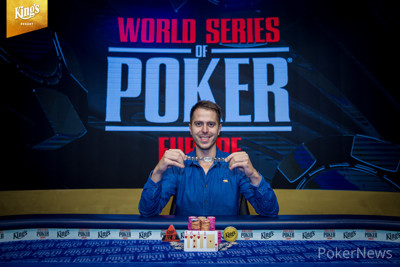 WSOP Europe: Norbert Szecsi wins second bracelet with win in Event #6 Mixed
