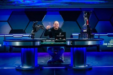 David ODB Baker wins WPT LA Poker Classic final table in Vegas