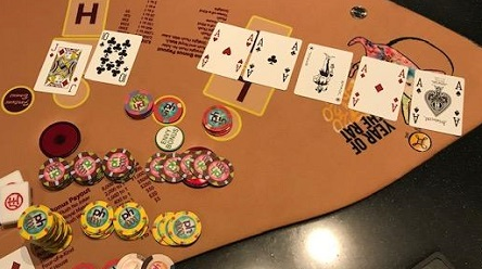 Planet Hollywood poker room reopens, Pai Gow jackpot hit