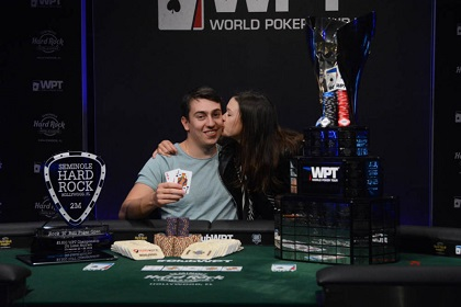 Pavel Plesuv Wins WPT Seminole Rock N' Roll Poker Open for $504K
