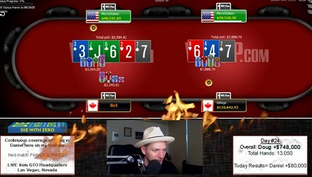 The Feud: Daniel Negreanu continues to chip away at Doug Polk
