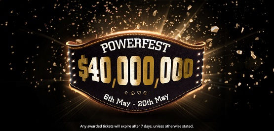 partypoker POWERFEST schedule released