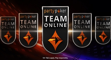 partypoker creates Team Online with top streamers