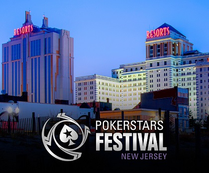 PokerStars Festival in Atlantic City will have 50 gaming events