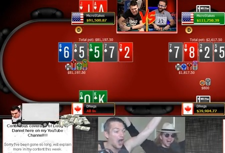 High Stakes Feud: Polk banked $332K session, Negreanu down $596K