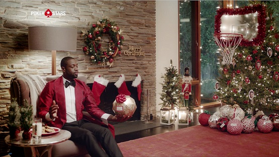 Ronaldo and D-Wade special Christmas RaiseIt promo