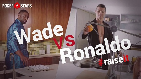 RaiseIt: Dwyane Wade and Ronaldo's Fitness Campaign