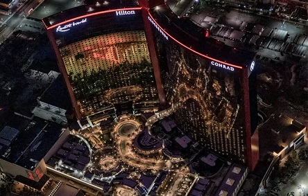 Use Gemini crypto wallet at the New Resorts World Casino in Las Vegas