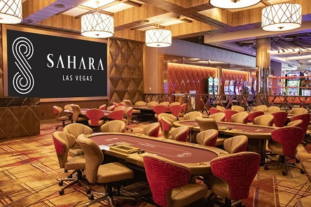 Sahara Casino in Las Vegas re-opens their poker room